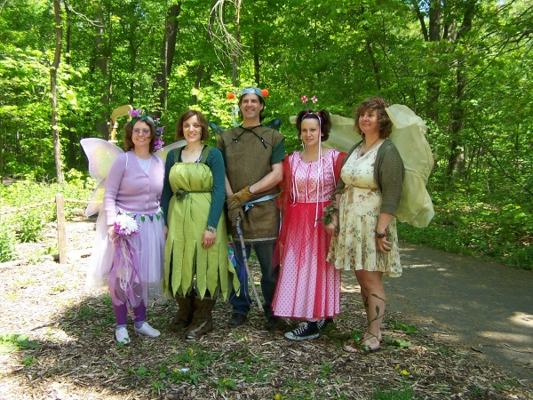 Fairy Fest is THIS Saturday (always the first Saturday in May)